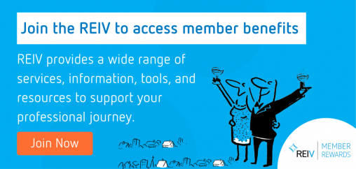 Join the REIV to access member benefits